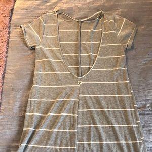 Backless beach dress